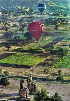 Explore Egypt on a different level Guided Excursions, Private Day Tours, Nile Cruises and Travel Packages. As one of the most ancient civilizations in the history of the world, Egypt will always remain a popular cultural travel destination. Having the … Egypt Travel, Africa Travel, Hot Balloon Ride, Air Balloon, Balloons, Monuments, Agriculture, Modern Egypt, Religion