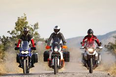 BMW R1200GS vs KTM 990 Adventure vs Triumph Tiger Explorer 1200