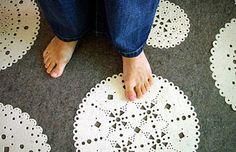 The carpet series make from felt, designed by Agnieszka Czop and Joanna Rusin, Fabric Glue, Rugs On Carpet, Carpets, Modern Interior Design, Furniture Design, Polish, Kids Rugs, Contemporary, Outdoor Decor