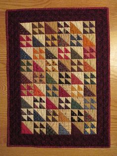 The Middle Sister: Small Quilts Finished