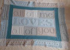 (4) Name: 'Crocheting : LOVES pattern for crocheted blanket