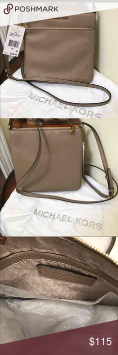 🌺🎀NWT Michael Kors Pebble Leather Crossbody🌺🎀 🌺🎀NWT Authentic Michael Kors Riley Tan Pebble Leather Crossbody is new and ready to wear!! It's stylish and Sleek & definitely a must have🎀🌺 Michael Kors Bags Crossbody Bags