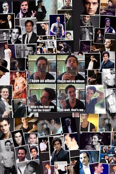 Ramin Karimloo collage made by me and my friend.