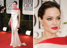 Vote for the best Golden Globes red carpet look here! #angelina