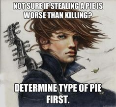 Advice from Kvothe. I knew there were other fans out there :)