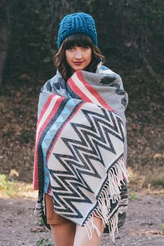 Overland Blanket Scarf – Bungalow 123