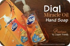 Check out my Dial review and enter to win FREE hand soap from Coupon Friendly!!! Entering is so easy!