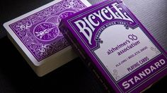 BICYCLE ALZHEIMER'S ASSOCIATION PLAYING CARDS DECK NEW