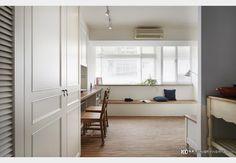 仙岩路_H小姐_古典風設計個案—100裝潢網 Deco Tv, Divider, Cabinet, Bedroom, Storage, Table, House, Furniture, Home Decor