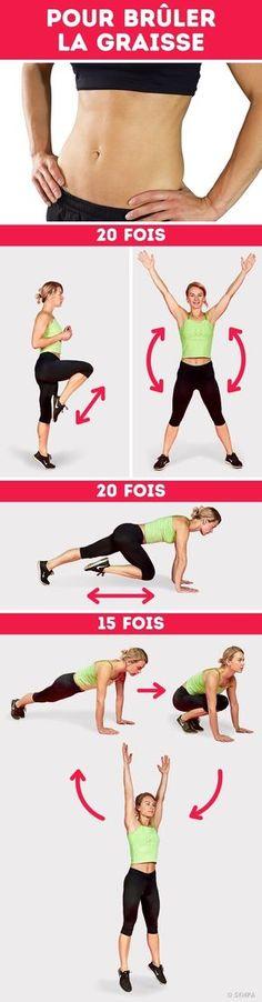Pour brûler la graisse, tonifier les fessiers et avoir une taille de guêpe, tu ne dois pas nécessairement passer des jours et des jours à la salle de sport. Tu as juste besoin de suivre une bonne routine d'exercices, d'avoir une alimentation équilibrée et de trente minutes par jour. Sympa-sympa.com a préparé pour toi cet ensemble universel d'exercices pour dix jours qui te permettra de tonifier les muscles de tout ton corps. Et le mieux dans tout ça, c'est que tu n'as pas besoin d'aller à la…
