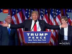 Donald Trump Wins U.S. Presidential Election. <[{DONALD J. TRUMP}]> HAS WON THE PRESIDENCY CRUSHINGLY VIA LANDSLIDE #VICTORY AND IS NOW PRESIDENT OF THE UNITED STATES OF AMERICA #POTUS