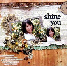 Shine you - Scrapbook.com