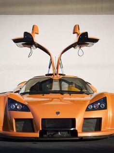 The Gumpert Apollo is a sports car produced by German automaker Gumpert Sportwagenmanufaktur GmbH in Altenburg.