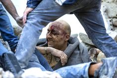Here are the most influential, striking, and beautiful pictures from 2016. An injured man is pulled from the rubble in Amatrice, Italy, where a 6.1 earthquake struck just after 3:30 a.m. on Aug. 24. The quake was felt across a broad section of central Italy, including the capital Rome, where people in the historic center felt a long swaying followed by aftershocks.