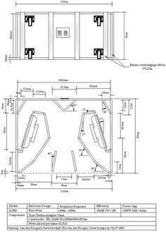 planos para armar bafles y cajas acusticas descargar gratis speakers wood pinterest. Black Bedroom Furniture Sets. Home Design Ideas