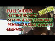 FULL VIDEO CARA PEMBUATAN HOTSPOT - LOGIN PAGE DAN KODE VOUCHER - YouTube Login Page, Wifi Router, Dan, Youtube, Wireless Router, Youtubers, Youtube Movies
