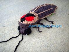Ravelry: Buggables: Lightning Bug motif par Jenna Wingate, $5 for crochet pattern