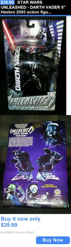Toys And Games: Star Wars Unleashed - Darth Vader 8 Hasbro 2005 Action Figure New In Package BUY IT NOW ONLY: $39.99