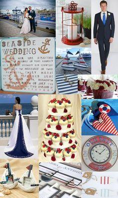 nautical wedding theme | Moody Monday - Nautical Weddings - The Wedding Community Blog