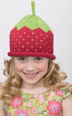 Sweet strawberry hat