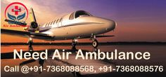 Get Advantage of Doctors Air Ambulance Services in Dibrugarh at Low Cost While Shifting Your Dear Ones