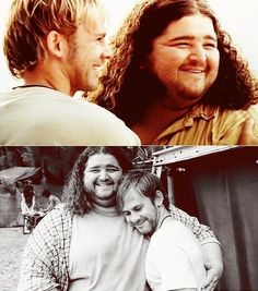 Charlie & Hurley from LOST