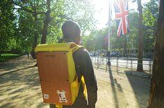 Goodstart Jones   Woodsack Backpack XL in Yellow