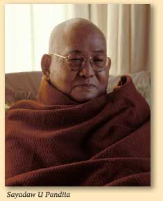 Portrait du Vénérable Sayadaw U Pandita
