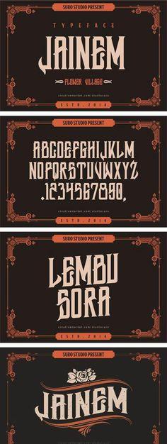 Jainem Typeface Free Font