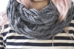 25  DIY Arm Knitting Ideas and Tips