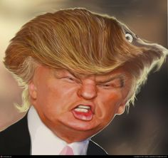 Donald Trump by Per Trystad | 2D | CGSociety