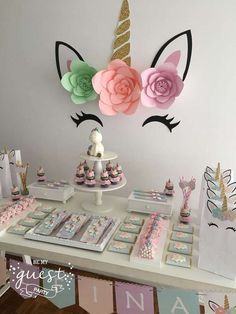 Unicorns Birthday Party Ideas | Photo 1 of 25