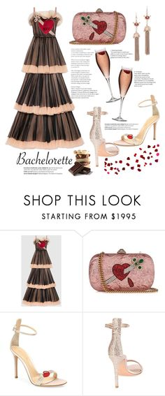 """Could it be..."" by mood-chic ❤ liked on Polyvore featuring Gucci, Gianvito Rossi, Chanel, Balmain and Bachelorette"