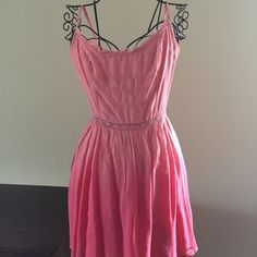 Hollister summer dress Adorable Hollister coral color summer dress with adjustable straps Hollister Dresses Mini
