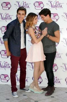 Jorge, Martina en Diego