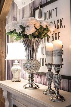 Home Decoratie Bedrooms Inspiration 48 Ideas For 2019 Hallway Decorating, Entryway Decor, Foyer, Living Room Decor Cozy, Bedroom Decor, Home Design Decor, Deco Table, Home And Deco, Elegant Homes