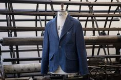 Rope dyed indigo, pt. 4 Clothes made in England