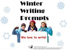 Winter Writing Prompts: Photographs for Informative, Explanatory or Narrative  from TiePlay Educational Resources LLC on TeachersNotebook.com -  (21 pages)  - $4.95 Writing Prompts: Photographs for Informative, Explanatory or Narrative is a collection of 19 nippy weather scenes with key word prompts.