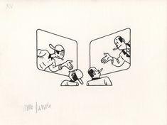 Virtual exhibition Joost Swarte | Lambiek Comic Shop