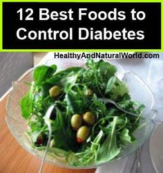 12 best foods to control diabetes