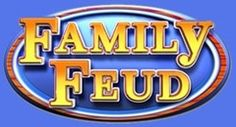 """Name a game show that's fun for the whole family. Survey sez: Family Feud! Originally hosted by Richard Dawson, who loved to kiss the ladies; replacement hosts included Ray Combs, who loved to wear the ladies' shoes, and Steve Harvey, who loved to make the ladies blush. Originally a Goodson/Todman production, now a property of Freemantle (also includes Reg Grundy's games, including """"Sale of the Century""""; also including """"Let's Make a Deal"""" and """"Press Your Luck"""")."""