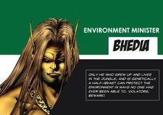 Environment-Minister-Bhediya Indian Comics, Comic Character, Comic Art, Environment, Characters, Figurines, Cartoon Art, Environmental Psychology, Graphic Novels