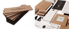 Kraft Paper Business Card Example
