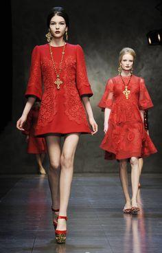 Dolce&Gabbana's new line recalls sacred, profane
