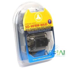 JL Audio XD-MFBW-MAXI Water-Resistant Master MAXI® Fuse Block for 8 AWG - 4 AWG Wire (100A Maximum)          $29