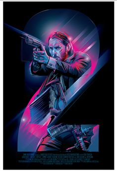 John Wick: Chapter 2 Poster - Created by Orlando Arocena