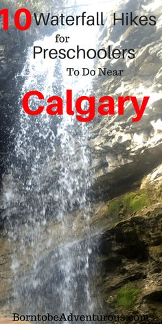 10 waterfall hikes for kids near Calgary Toddler Preschool Hiking With Kids, Travel With Kids, Family Travel, Vacation Trips, Day Trips, Vacations, Family Adventure, Adventure Travel, Cool Places To Visit