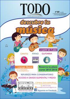 Descubre la música en Escuela de Música Mari Trini