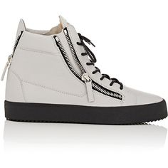 Giuseppe Zanotti Double-Zip High-Top Sneakers ($695) ❤ liked on Polyvore featuring men's fashion, men's shoes, men's sneakers, grey, mens high top sneakers, mens high top shoes, giuseppe zanotti mens sneakers, mens grey sneakers and mens gray dress shoes