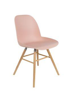 Albert Kuip- Boer Staphorst | #stoel #mixenmatch #zuiver #roze #stoel #kunststof